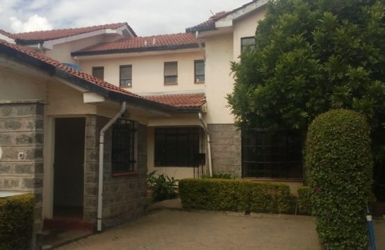 3 Bedroom House to Let in Syokimau