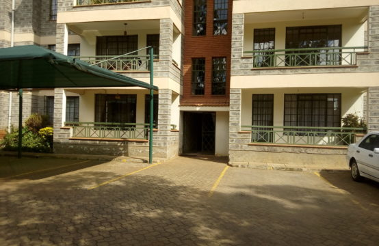 3 bedroom apartment with a dsq for rent in Kilimani
