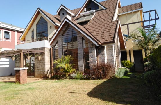 5 bedroom house with a dsq to let in Lavington
