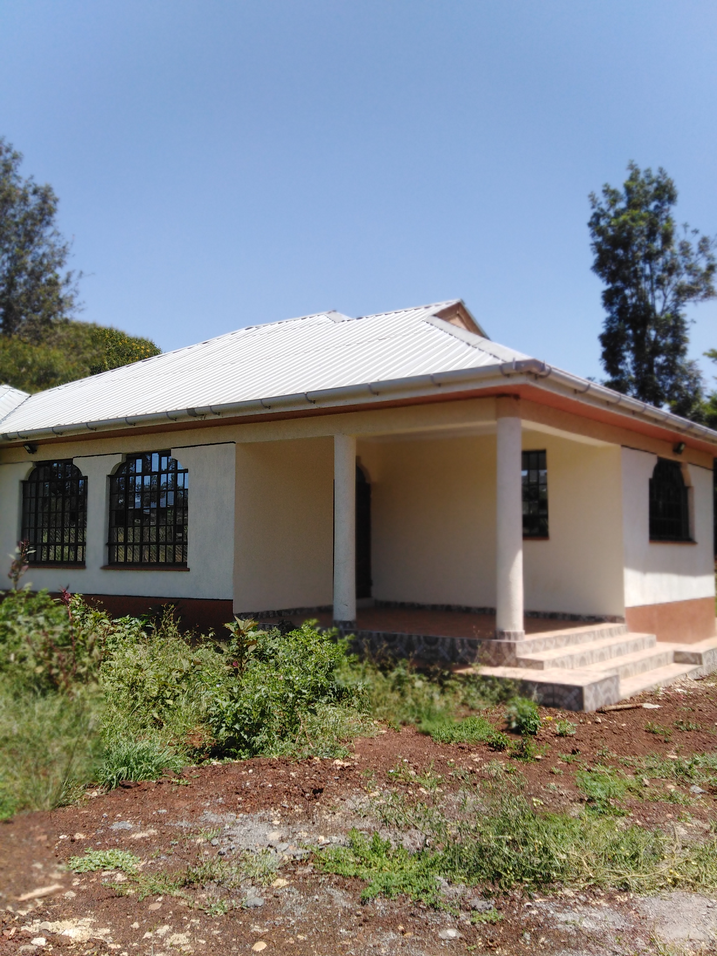 3 bedroom house with a detached sq to let in Kiambu road