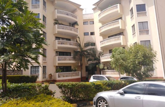 3 bedroom apartment with Sq to let in Kileleshwa