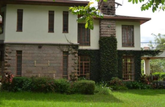 4 bedroom house with 2 servant quarters to let in Karen