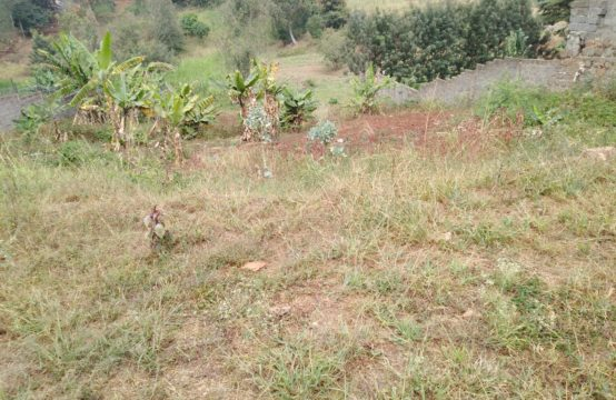 1/2 acre plot for sale in Kiambu road