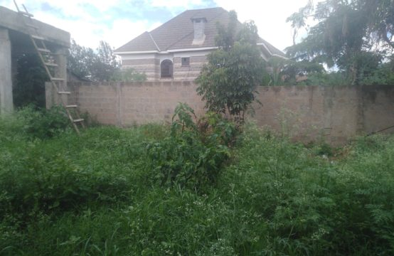 Very prime 1/2 acre land for sale along Kiambu road