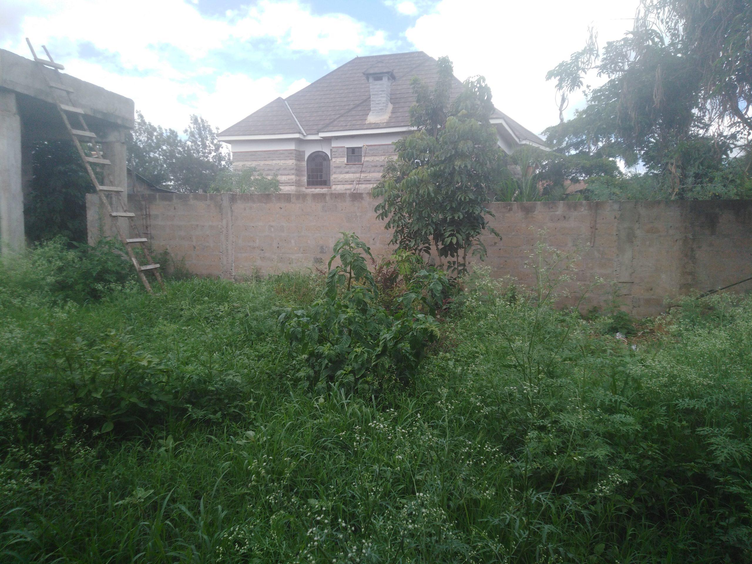 Very prime 1/2 acre land for sale along Kiambu road