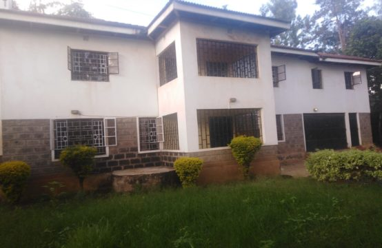 5 bedroom house with an sq to let in Kahawa Sukari